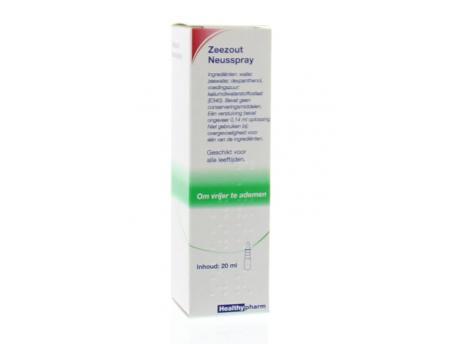Healthypharm Sea salt nasal spray 20ml