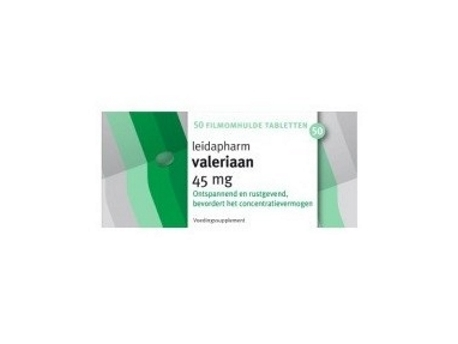 Leidapharm Valerianextact 45 mg 50tab
