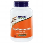 NOW Psylliumvezels 500 mg 200cap