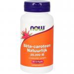 NOW natural Beta-carotene 90sft