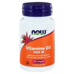 NOW vitamin D-3 1000IE 90sft