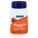 NOW Vitamine D-3 1000IE 90sft