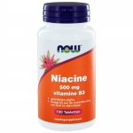 NOW Niacine 500mg Vitamine B3 100tab