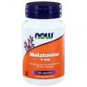 NOW Melatonine 3 mg 60cap