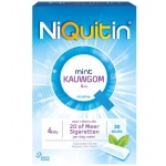 Niquitin Chewing gum 4 mg 30st