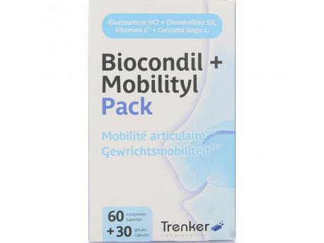 Trenker Biocondil duopack 60 mobilitis 30 60+30