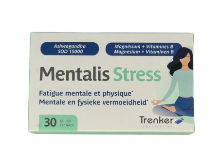 mentalis stress Trenker