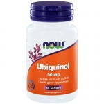 NOW Ubiquinol 50 mg 60sft