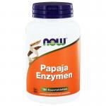 NOW Papaya enzymen 180kt