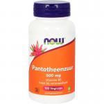 NOW Pantotheenzuur 500 mg 100cap