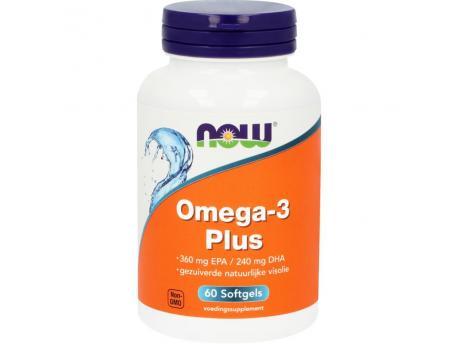 NOW Omega 3 Plus 60 softgels
