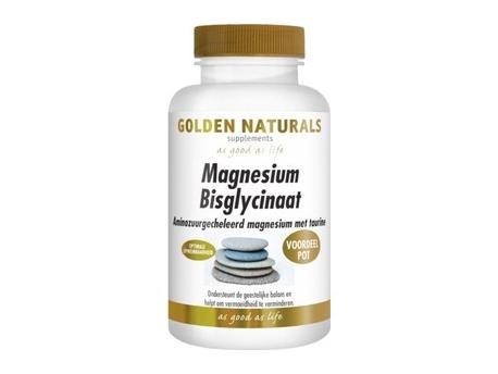 Golden Naturals Magnesium bisglycinaat 180tab