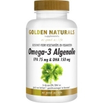 Golden Naturals Omega-3 algenolie liquid capsules 60cap