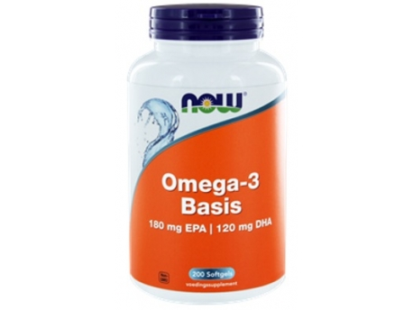 NOW Omega-3 Basis 180 mg EPA 120 mg DHA 200sft