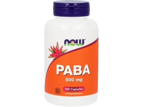 NOW PABA 500mg 100cap