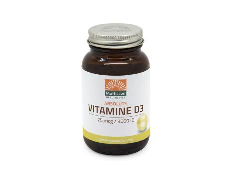 Mattison Vitamine D3 75 mcg 3000IE 240cap