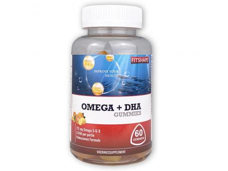 Fitshape Omega + DHA 60 gummies