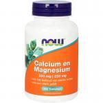 NOW Calcium & Magnesium 2:1 100tab