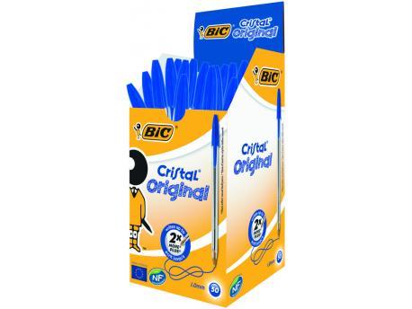 BIC Cristal pennen blauw doos 50st