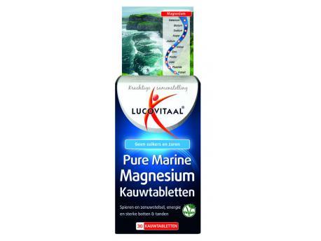 Lucovitaa Pure Marine Magnesium 30kt
