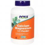 NOW Calcium & magnesium 1:1 227g