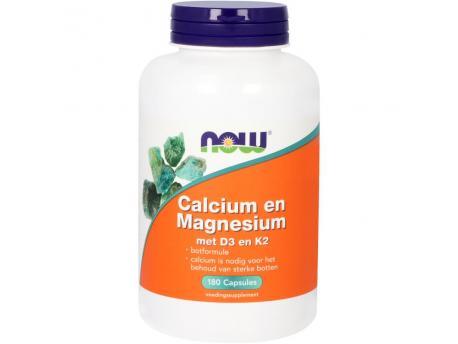 NOW Calcium & magnesium DK 180cap