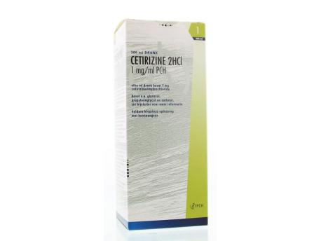 Cetirizine DiHCL 1 mg