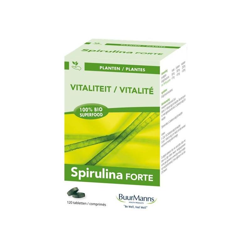 Afbeelding van Buurmanns Spirulina Bio 120tb