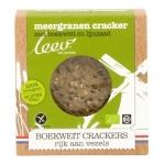Leev Boekweit & meergranen cracker glutenvrij 110g