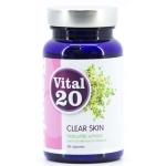 Vital20 Clear skin 280mg 60cap