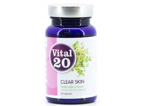 Vital20 Clear skin 280 mg 60cap