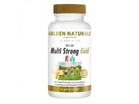 Golden Naturals Multi Strong Gold Kids 60kt