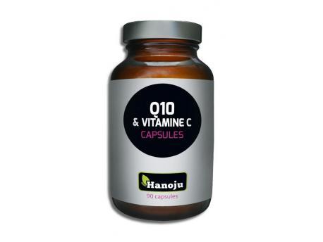Hanoju Co-enzym Q10 30 mg vitamine C 500 mg 90vc