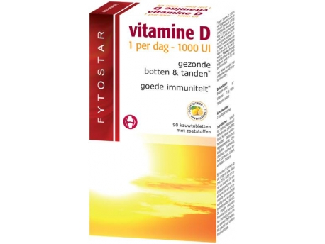 Fytostar Vitamin D chewable suction tablet 90tab