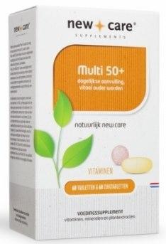 klik om naar New care Multi 50+ te gaan