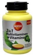 Roter Multivitamine + vitamine C 100tab