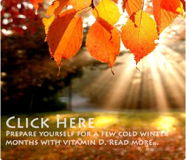 Prepare yourself for a cold winer with Vitamin D